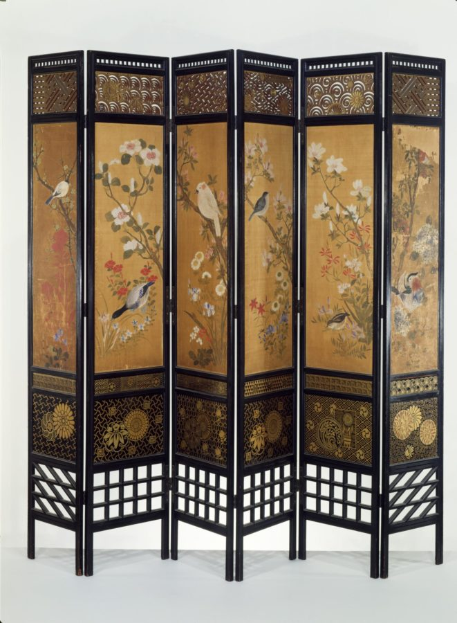 Designed by William Eden Nesfield, Screen, 1867, © Victoria and Albert Museum, London, guide to aestheticism