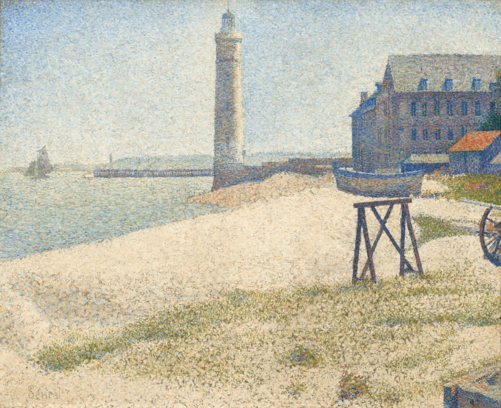 Georges Seurat The Lighthouse at Honfleur