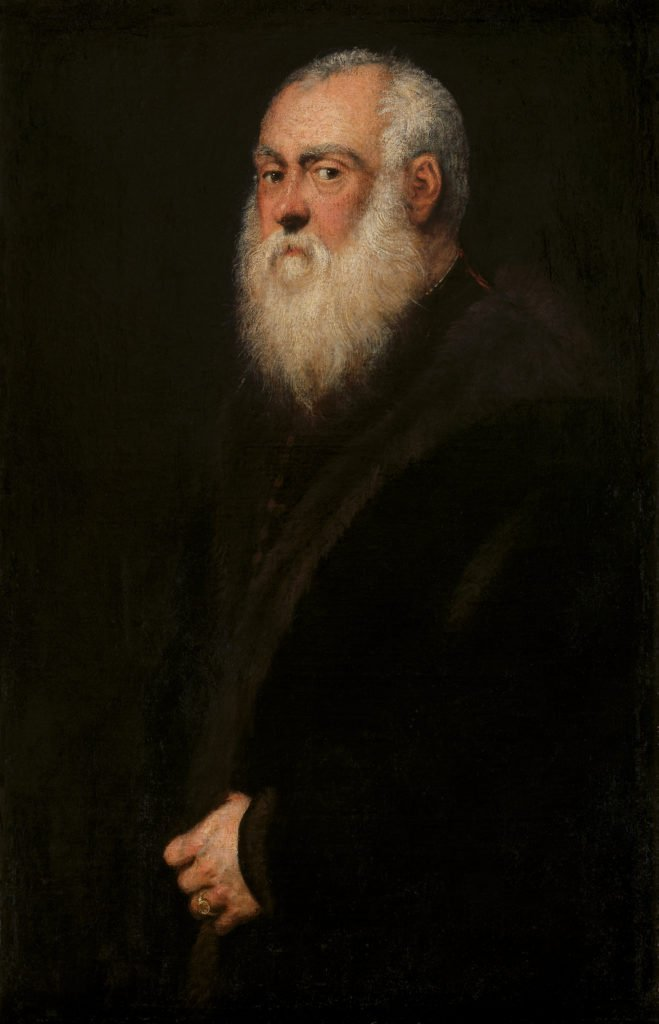 Jacopo Tintoretto Portrait of a White Bearded Man, 1545, Kunsthistorisches Museum, Vienna
