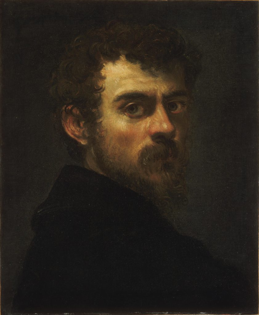 Jacopo Tintoretto 500 years Jacopo Tintoretto, Self-portrait, 1547/1548, Philadelphia Museum of Art
