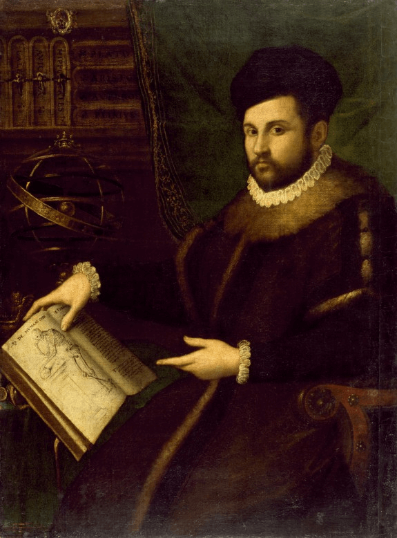 Portrait of Gerolamo Mercuriale by Lavinia Fontana