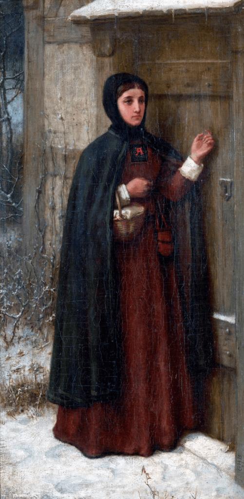 Scarlet Letter Boughton Pilgrims Going to Church