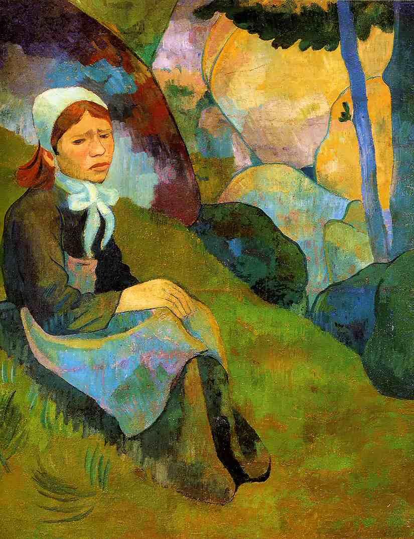 Paul Serusier, Solitude, Huelgoat Landscape, c.1892, Musée des Beaux-Arts de Rennes, Rennes, solitude in painting