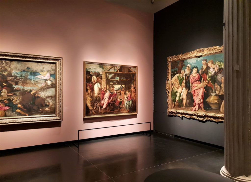 Jacopo Tintoretto 500 years The Young Tintoretto exhibition in Galleria dell'Accademia in Venice.