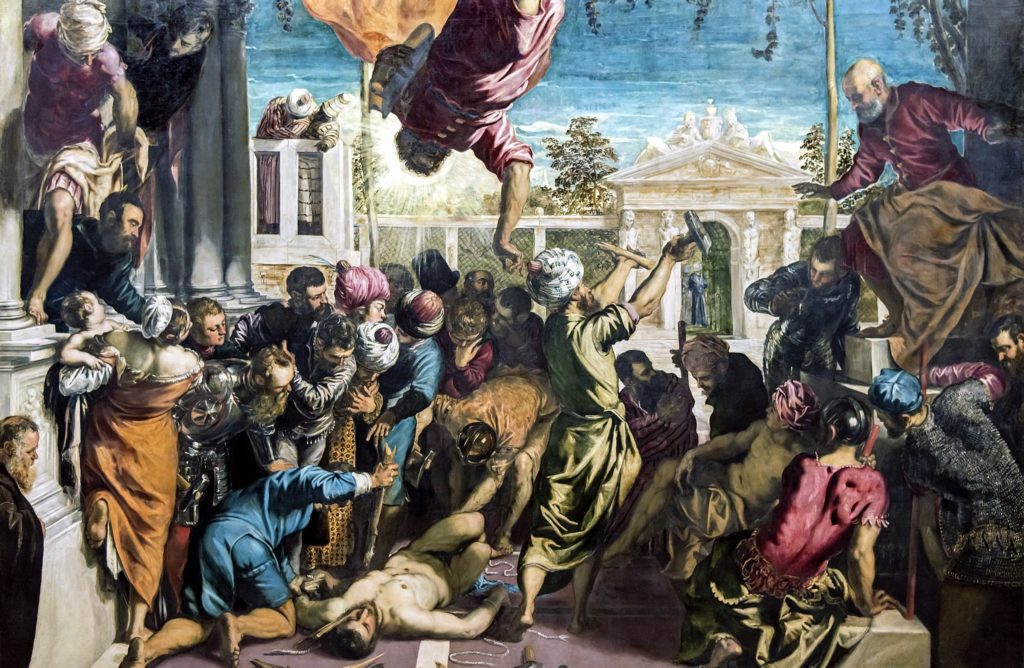 Jacopo Tintoretto 500 years Jacopo Tintoretto, The Miracle of the Slave, 1548, Gallerie dell'Accademia, Venice