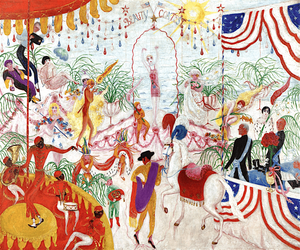 Beauty Contest: to the Memory of P.T. Barnum by Florine Stettheimer