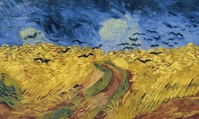In July 1980, Vincent van Gogh painted one of his best-known artworks, Wheatfield with Crows