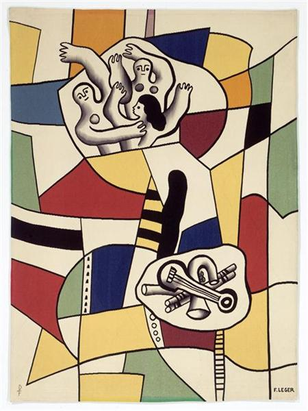 Fernand Leger, Dance, unknown date, Musee National Fernand Leger, Biot, France, new years resolutions for 2019