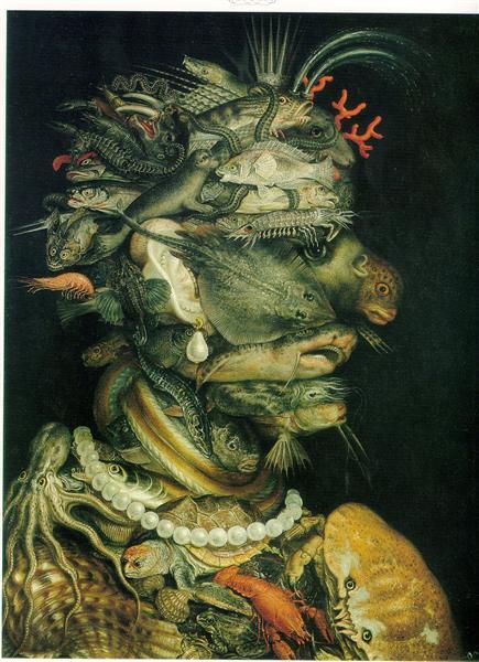 Giuseppe Arcimboldo, Water, 1566, Kunsthistorisches Museum, Vienna, Austria
