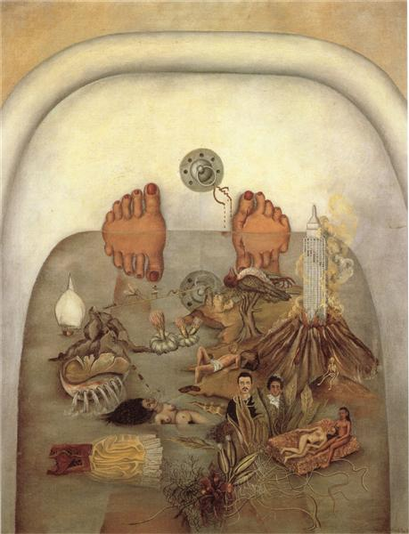 Frida Kahlo, What the Water Gave Me, 1938, Daniel Filipacchi Collection, Paris, France