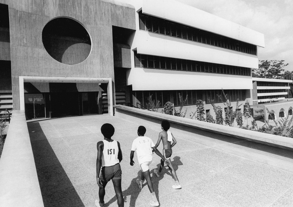 University of Ife in Ile-Ife, Nigeria, Architects Arieh Sharon und Eldar Sharon © Arieh Sharon Digital Archive, bauhaus turns 100