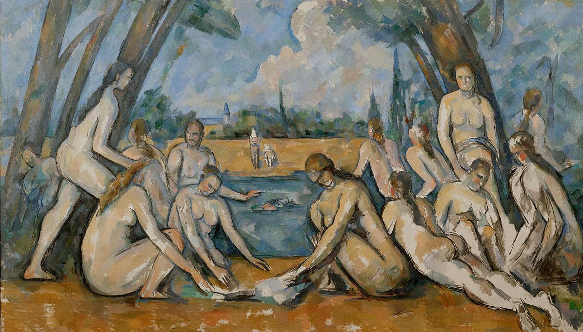 Cézanne, The Bathers