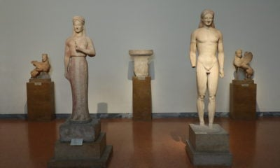 Ancient Greek Kouros and Kore