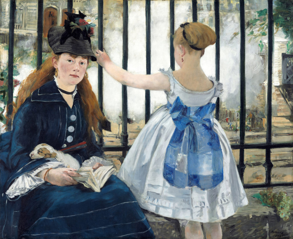 Edouard Manet The Railway Édouard Manet, The Railway, 1873, National Gallery of Art, Washington, D.C.