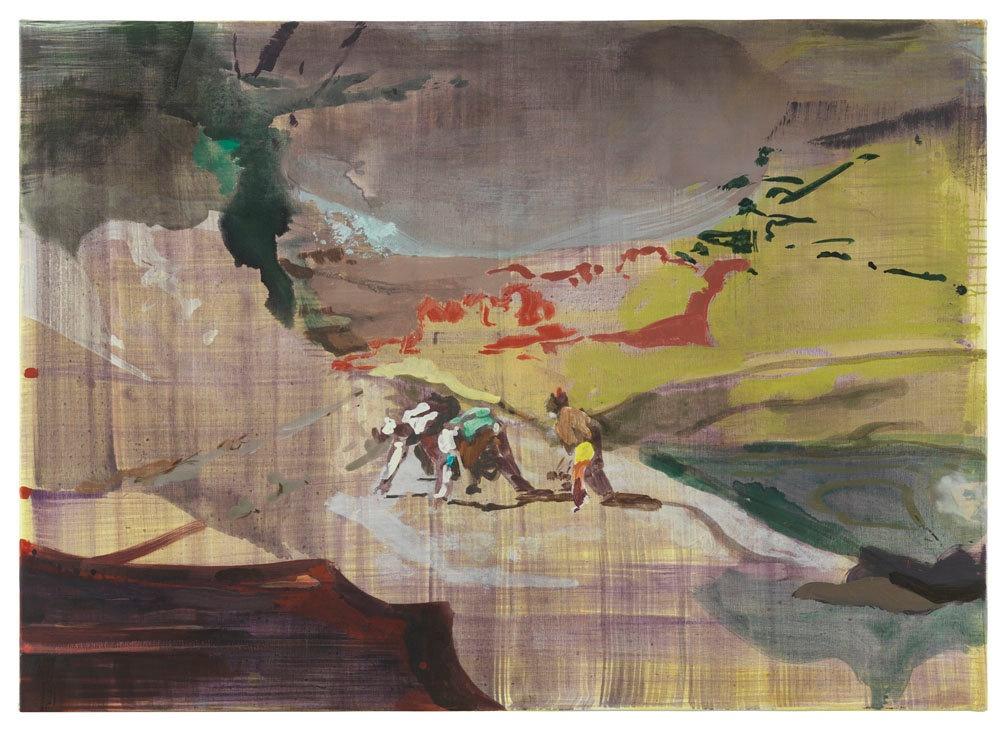 Art of Maki Na Kamura: Maki Na Kamura, LD XXIII, 2014, DITTRICH & Schlechtriem Gallery, Berlin, Germany.