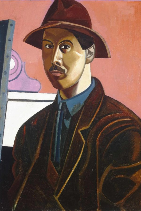 Wyndham Lewis, Portrait of the Artist as the Painter Raphael, 1921, Manchester Art Gallery. Wikimedia Commons; Wyndham Lewis' Portraits