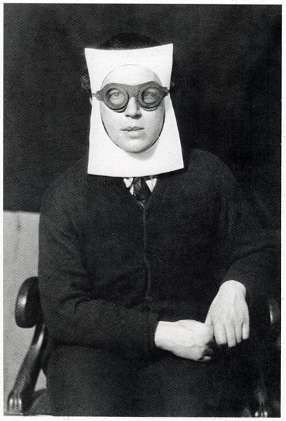 Man Ray, André Breton, 1930. Source: wikiart, man ray and his masks