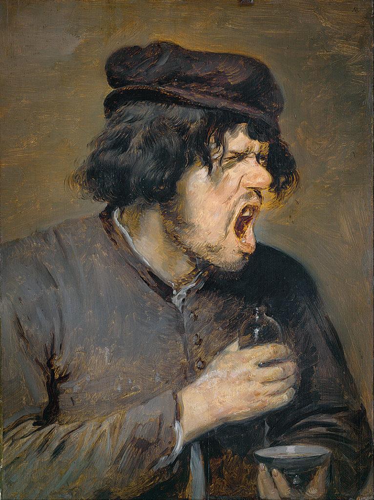 Adriaen Brouwer, The Bitter Draught, 1636-8, Städel Museum, Frankfurt, Germany.