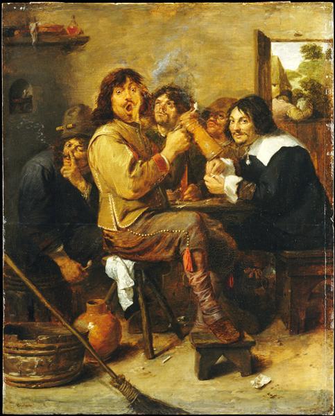 Adriaen Brouwer, The Smokers