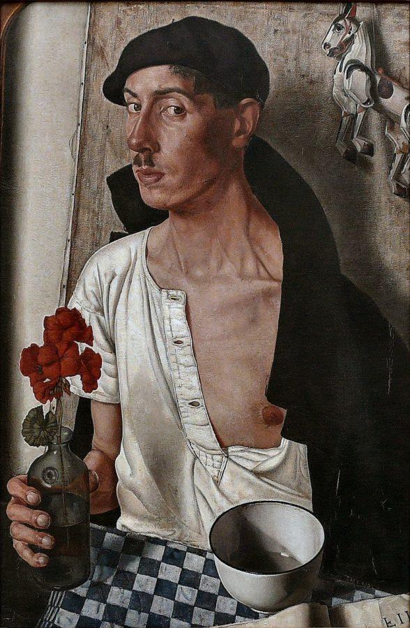 Dick Ket, Self-Portrait, 1932, Museum Boijmans Van Beuningen, Rotterdam Wikimedia Commons