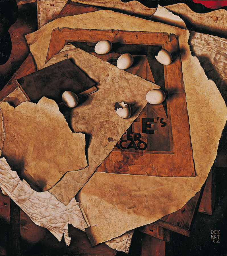 Dick Ket, still life with eggs, 1935, Dordrechts Museum, Holland Wikimedia Commons