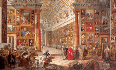 Giovanni Panini, Interior of a Picture Gallery