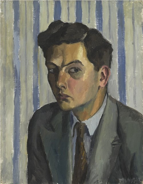 townsend self portrait circa 1929; Greatest Portrait Artists