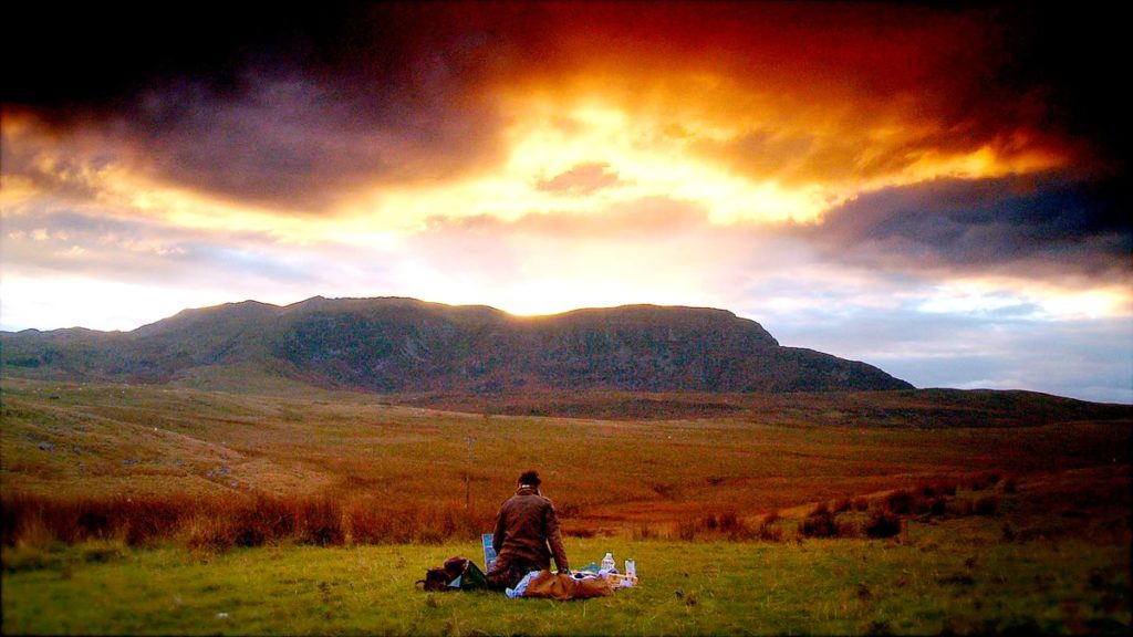 Arenig Fawr mountain, still from The Mountain That Had To Be Painted, dir. John Holdsworth