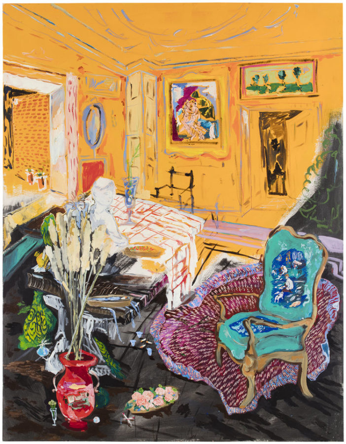Karoliina Hellberg, Orange Room, 2018, https://www.karoliinahellberg.com, new finnish interiors