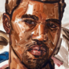 Elisabeth Peyton, Kanye West, 2010, Private collection © Elisabeth Peyton; Portrait Paintings in Digital Times