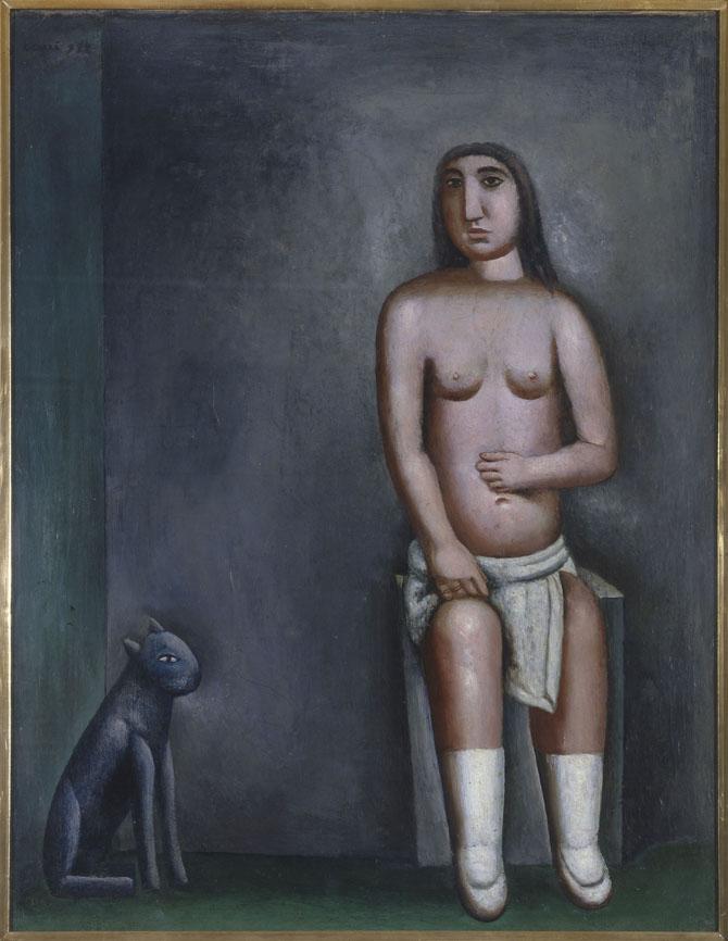 Carlo Carrà, The house of love, 1922, Pinacoteca di Brera, Milano; Artista Bambino at Fondazione Ragghianti in Lucca