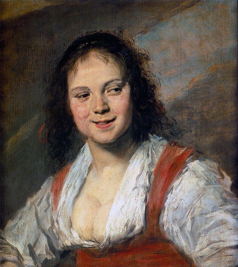 Frans Hals, The Gypsy Girl,