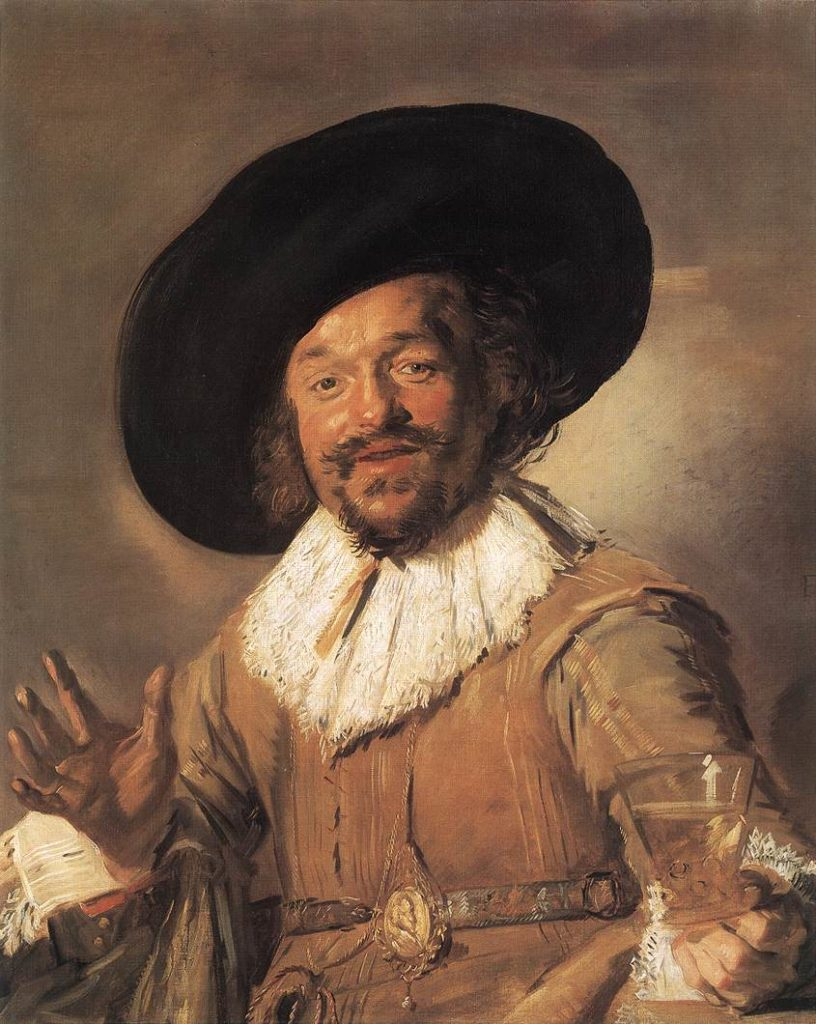 Frans Hals, The Merry Drinker