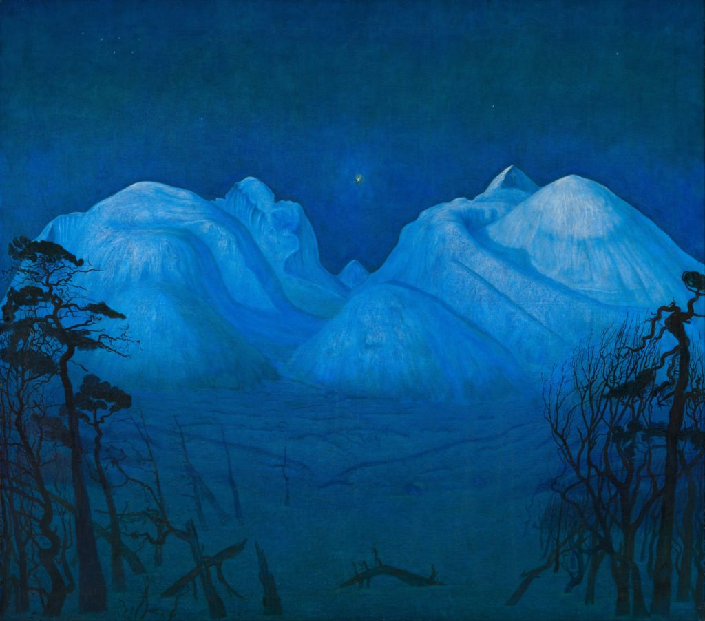 Harald Sohlberg at Dulwich