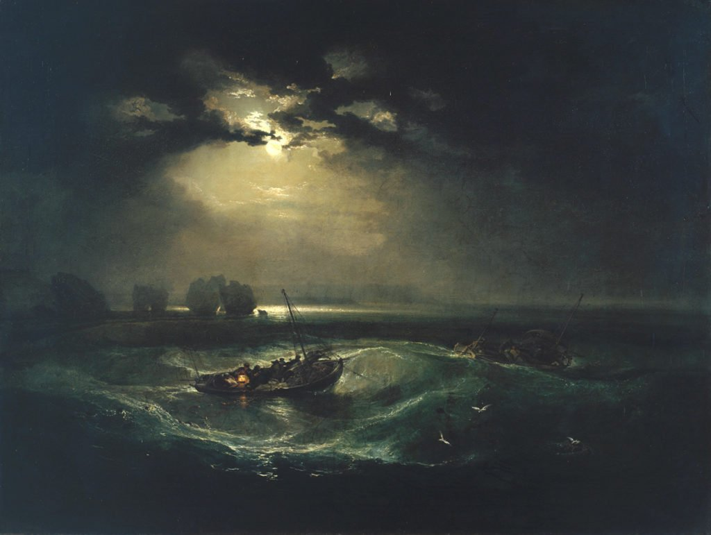 Full Moon in Painting
