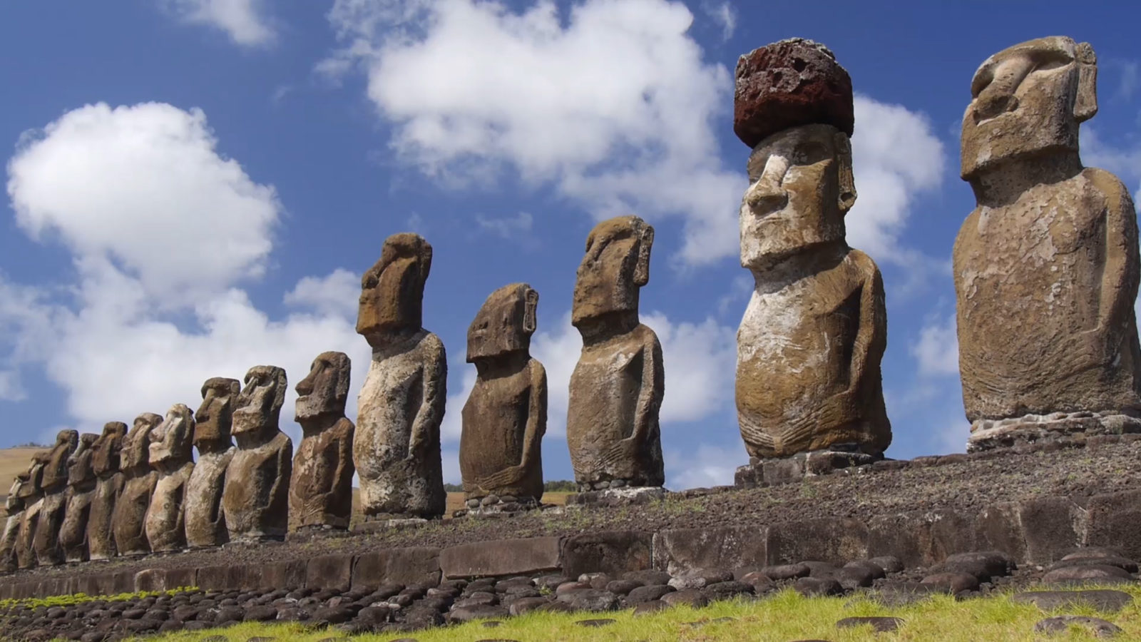 Moai of Easter Island