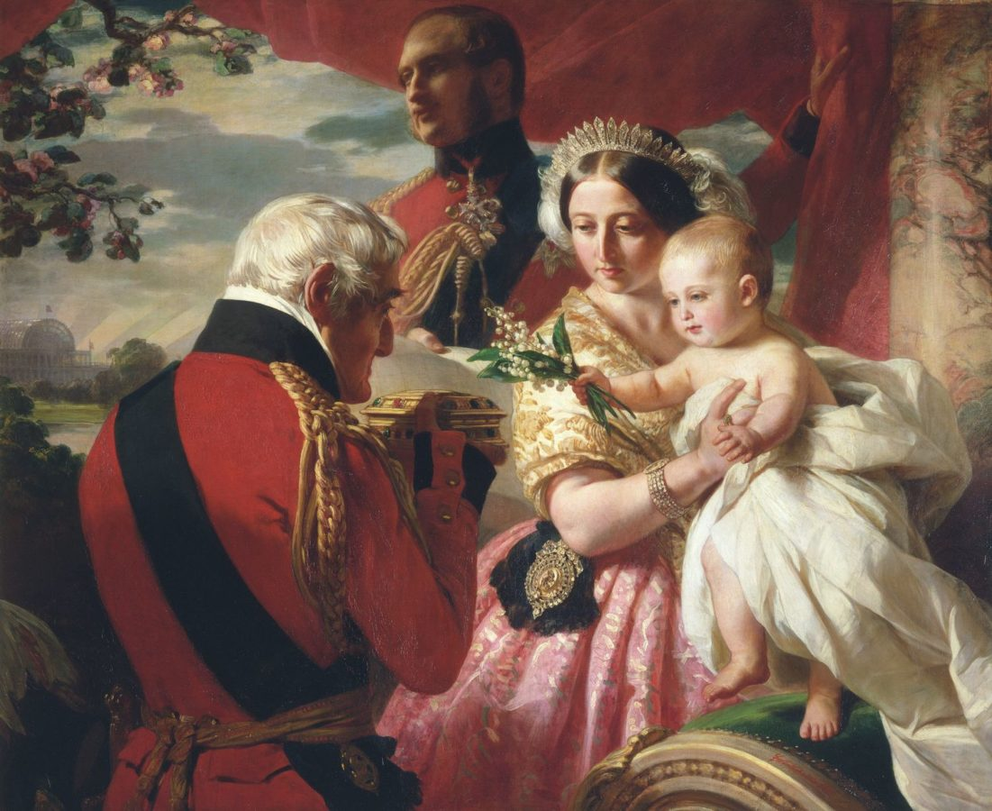 Franz Xaver Winterhalter, The First of May 1851, 1851, The Royal Collection, UK, first of may