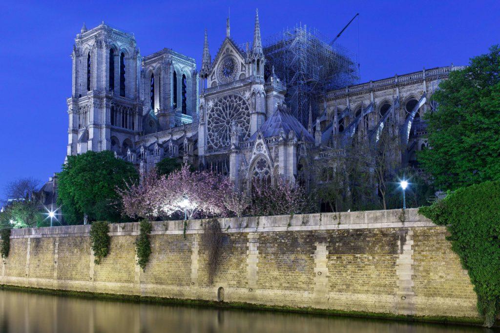 Notre-Dame de Paris after the fire
