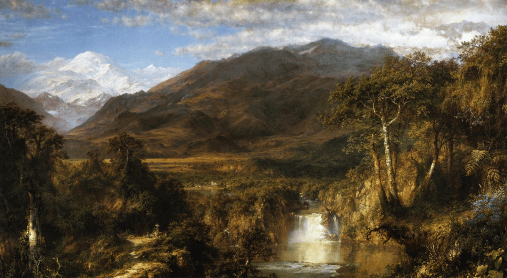 The Heart of the Andes Hudson River School