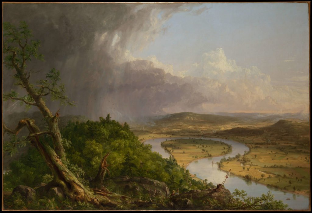 View from Mount Holyoke The Oxbow Hudson River School