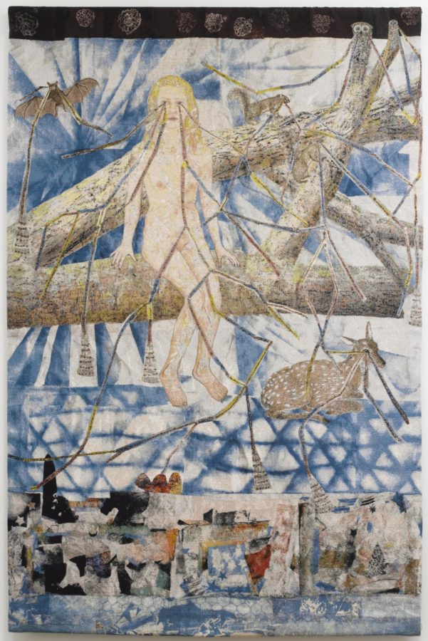 Kiki Smith, Tapestry Congregation, 2014, Courtesy of the artist and Pace Gallery, Oakland, California, kiki smith's bodies