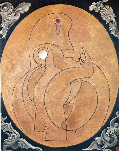 Max Ernst, The Inner Vision: The Egg, 1929, Menil Collection, Houston, TX, US, egg art 2019