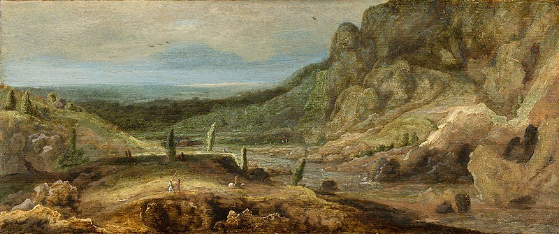 Hercules Seghers, River Valley, 1620, Mauritshuis, josef sima from czech republic to paris