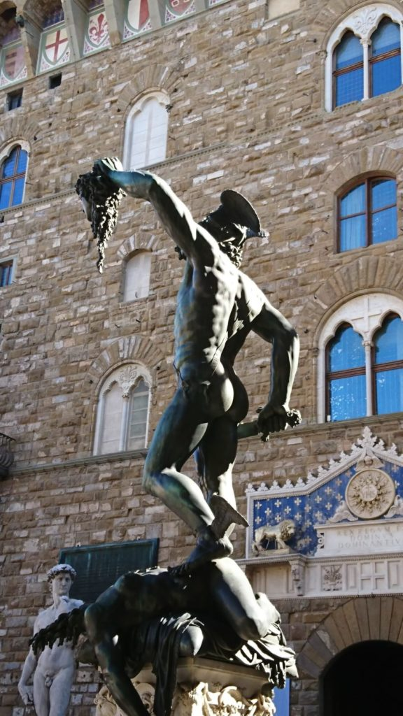Perseus And The Head Of Medusa A Very Florentine Story