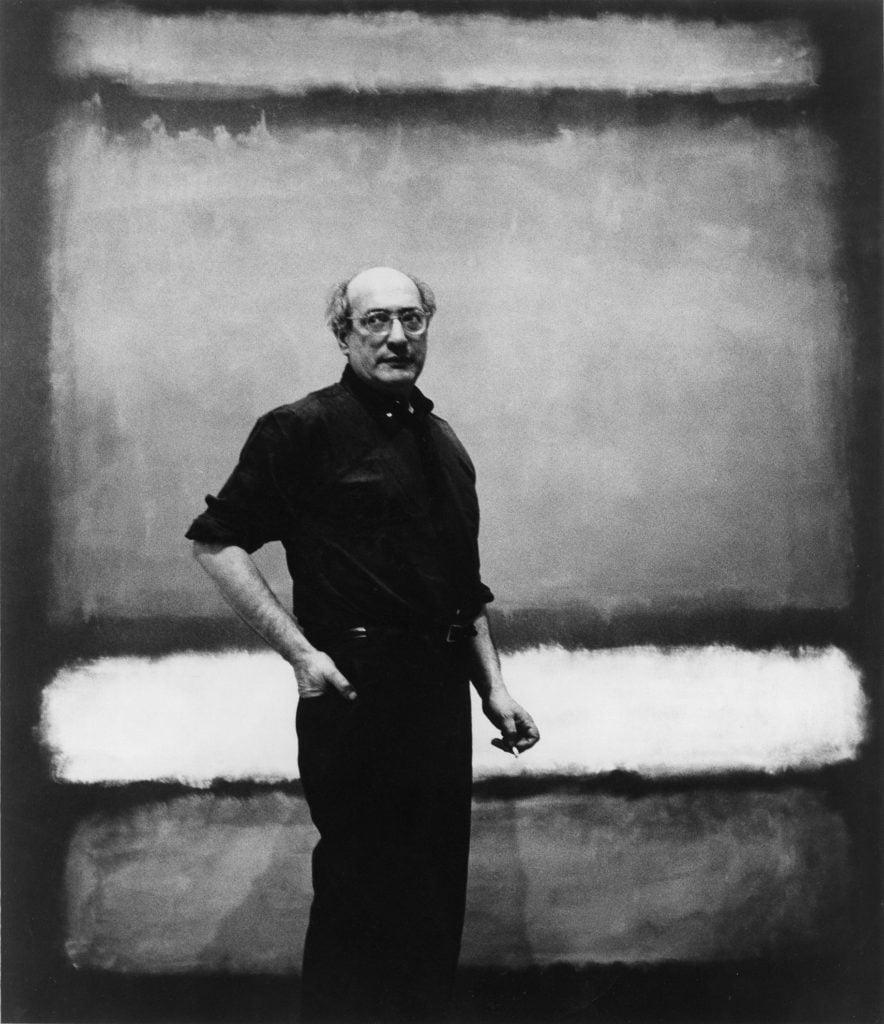 "early rothko Mark Rothko with ""No. 7"", 1960 Photograph attributed to Regina Bogat © 2005 Kate Rothko Prizel & Christopher Rothko, Bildrecht Vienna, 2019"