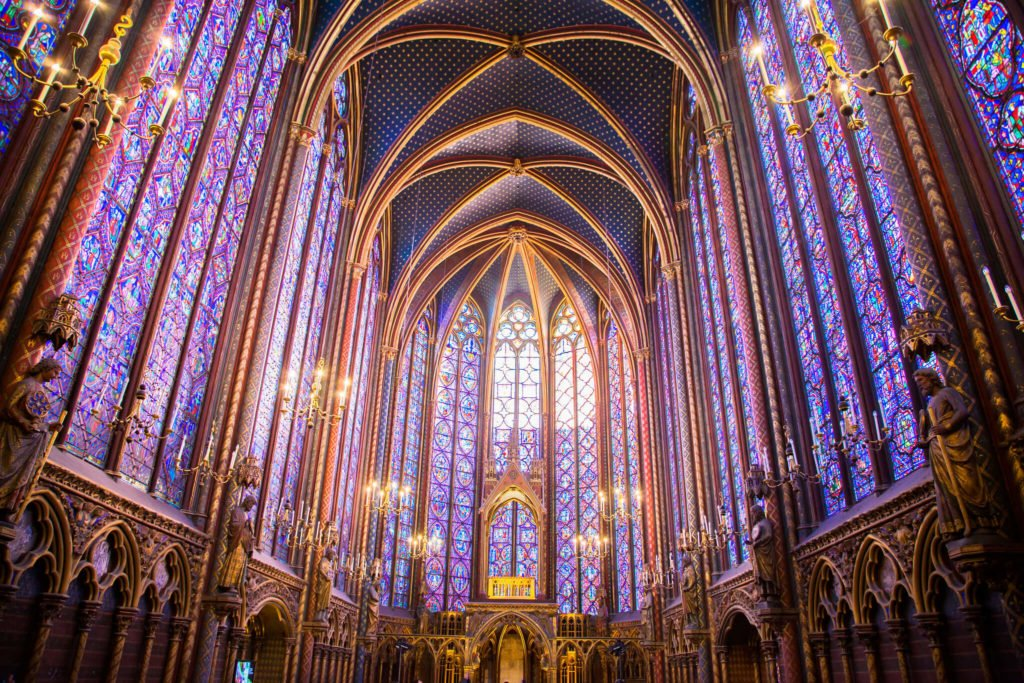 Sainte-Chapelle French churches