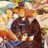 Simplon Pass the Lesson by John Singer Sargent cover