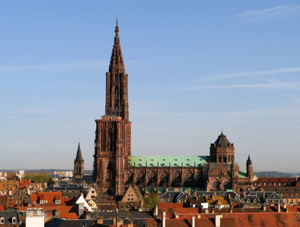 Strasbourg Cathedral French churches