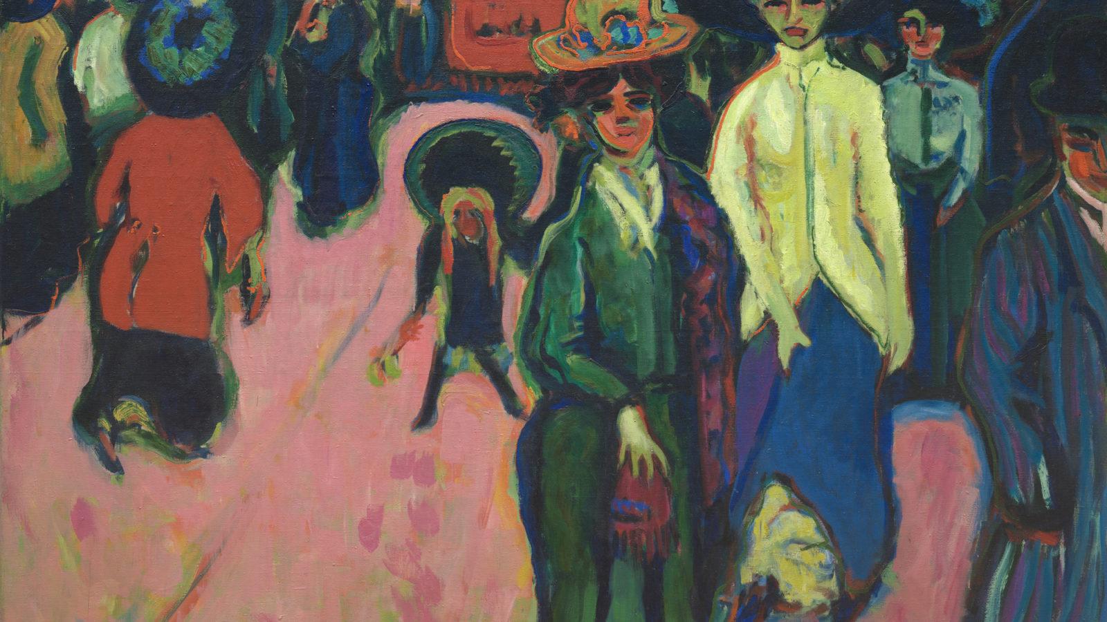 Ernst Ludwig Kirchner, Street, Dresden