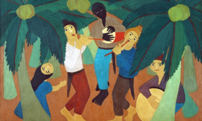 Djanira da Motta e Silva, Caboclinhos, 1952, Museu Nacional de Belas Artes, Rio de Janeiro, Brazilian painting; MnBA Rio de Janeiro